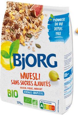 Muesli sans sucres ajoutés - raisin, figue, abricot - Produit - fr