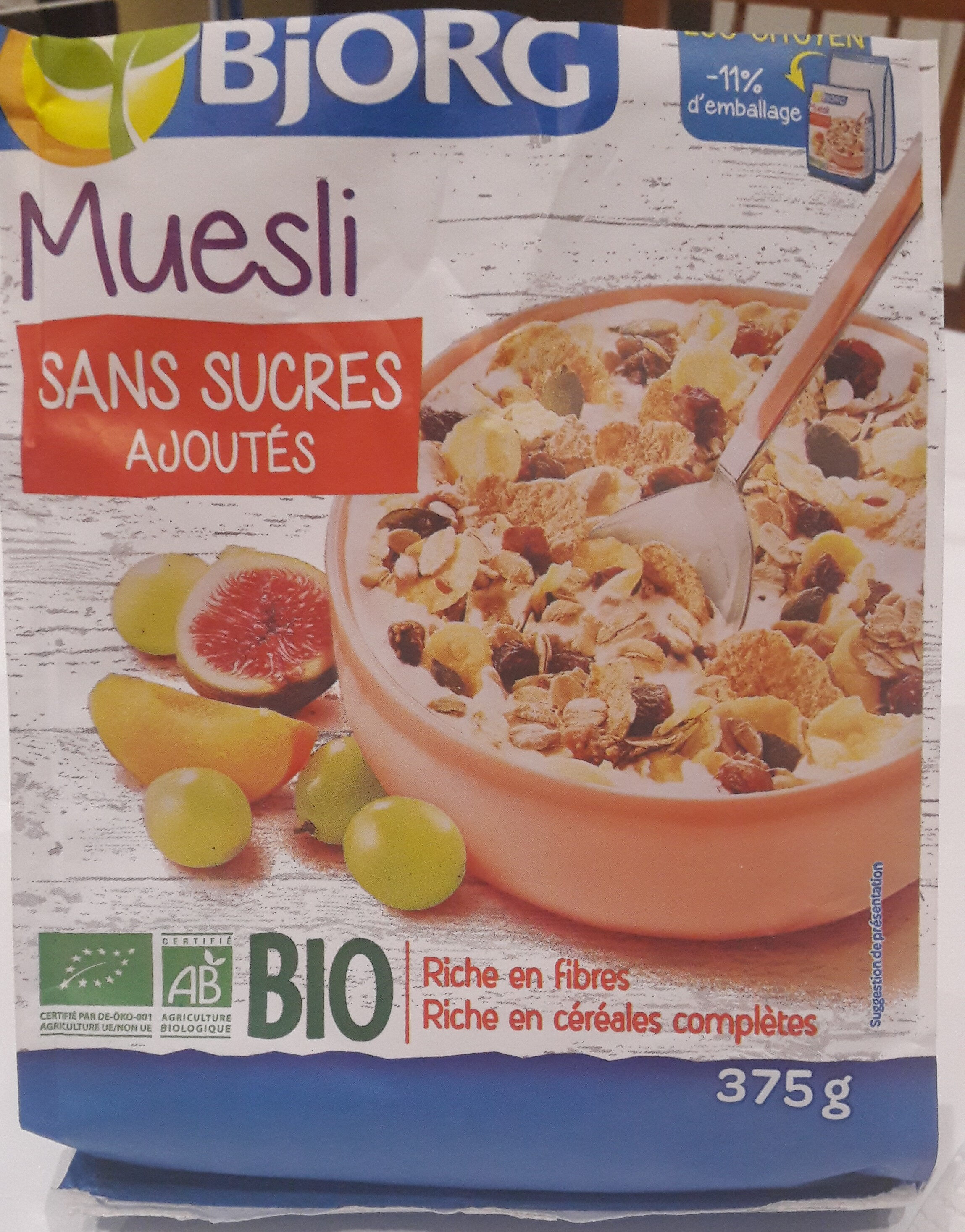 Muesli Raisin, Figue, Abricot - Product - fr