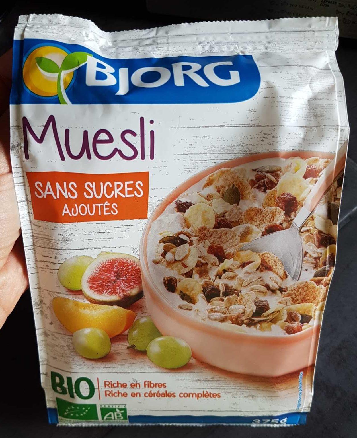 Muesli sans sucre ajouté* Bio - Product