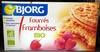 Fourrés fruit framboises bio - Product