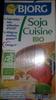 Soja cuisine Bio - Product