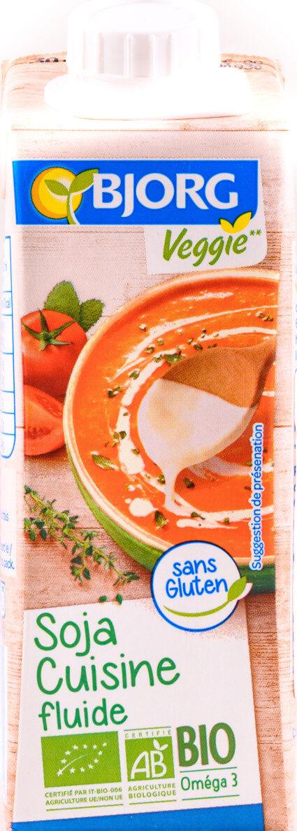 Soja cuisine veggie - Product - fr