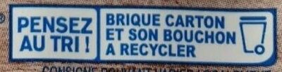 Soja Cuisine fluide - Recycling instructions and/or packaging information - fr