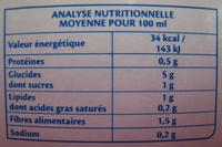 Soupe Mouliné Campagnard Bio - Voedingswaarden - fr