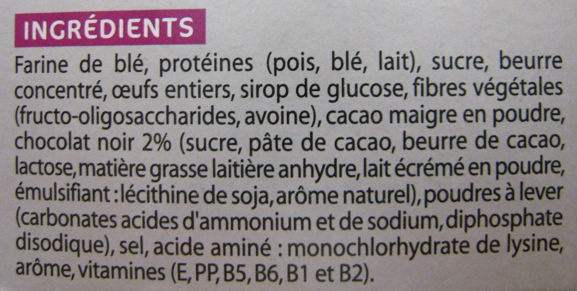 Galettes chocolat Gayelord Hauser - Ingrédients - fr