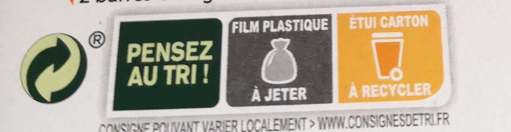 Pâtes de fruits - Istruzioni per il riciclaggio e/o informazioni sull'imballaggio - fr