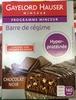 Barre de régime hyper-protéinée Chocolat Noir - Product