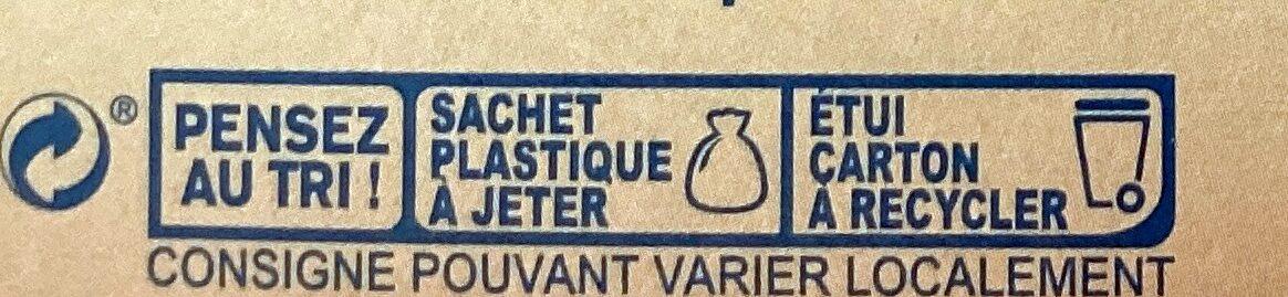 Onctueuse purée de pomme de terre - Instruction de recyclage et/ou informations d'emballage - fr
