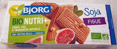 Biscuits Soja Figue - Produit - fr