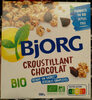 Croustillant chocolat bio - Product