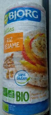 Galettes riz sésame - Product - fr