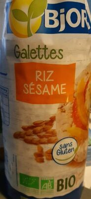 Galettes riz sésame - Produit - fr