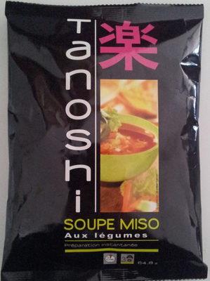 Soupe miso aux légumes - Product