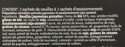 Ramen soja caramel - Ingredienti - fr