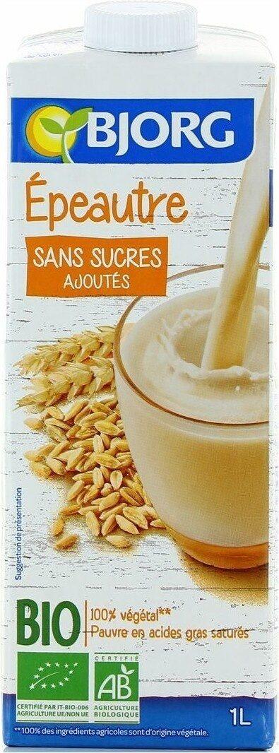Boisson épeautre sans sucres ajoutés - Produit - fr