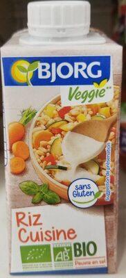 Riz Cuisine Bio Bjorg - Produit - fr