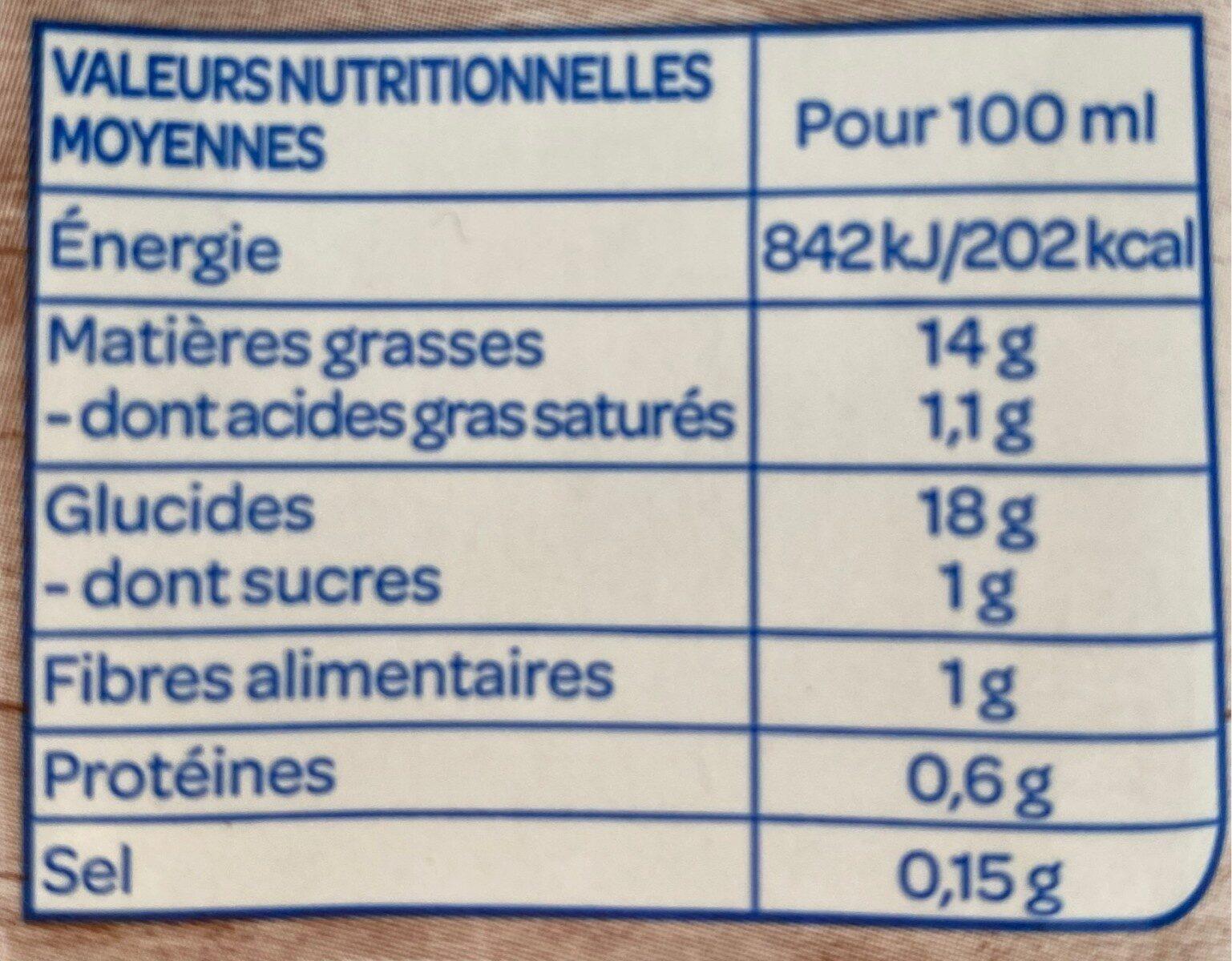 Riz Cuisine Bio Bjorg - Nutrition facts - fr
