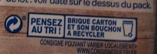 Riz Cuisine Bio Bjorg - Recycling instructions and/or packaging information - fr