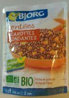 Lentilles carotte - Product