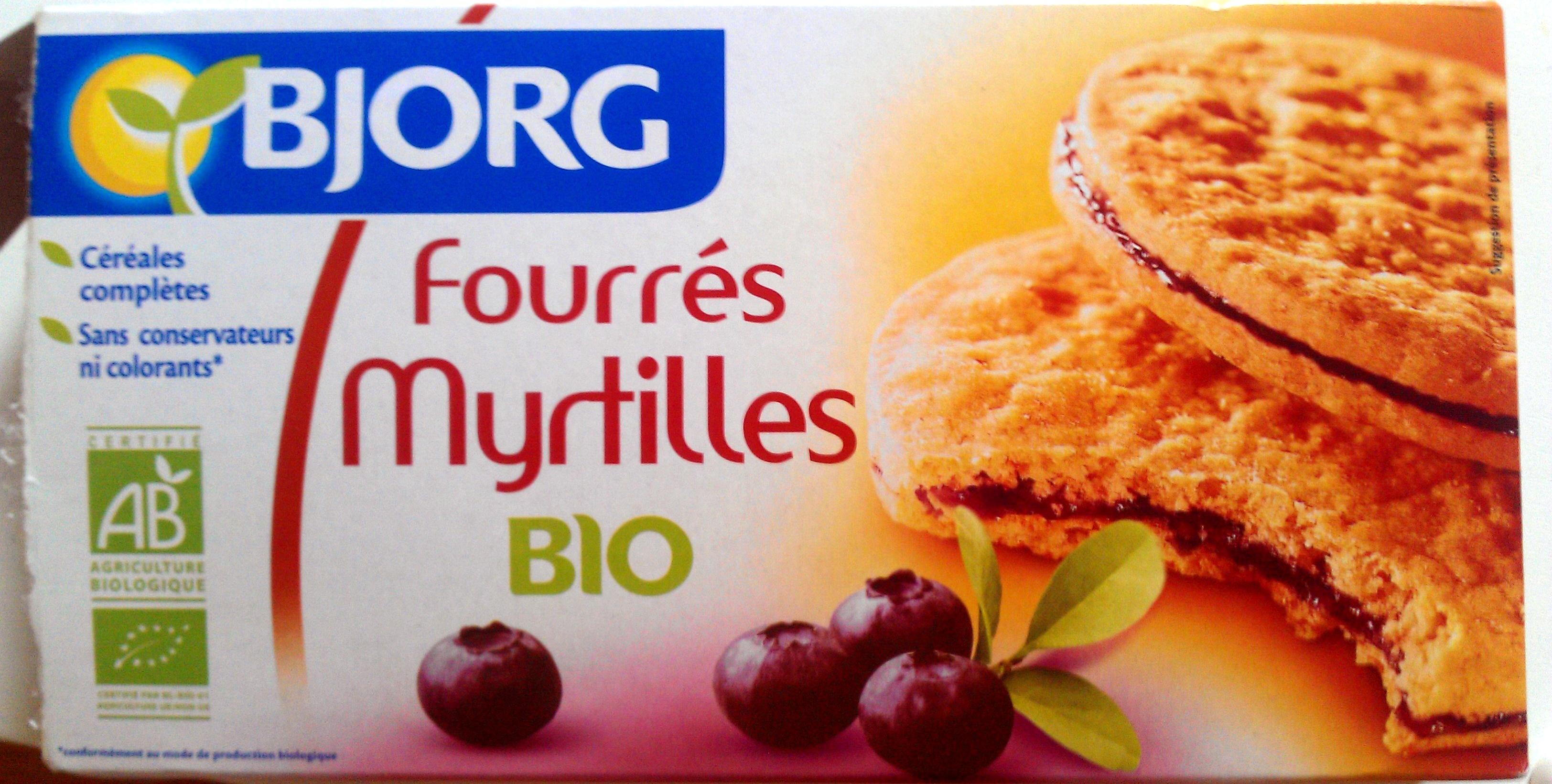 Bjorg - fourrés myrtilles bio - Produit - fr