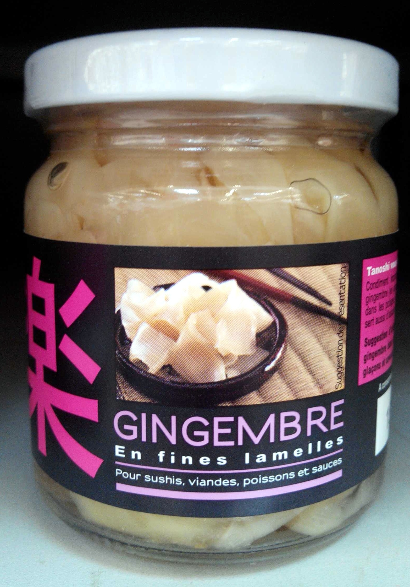 Gingembre en Fines Lamelles - Product