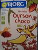 Céréales ourson choco bio - Product