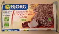 Galettes de riz - Chocolat noir Coco bio - Prodotto - fr
