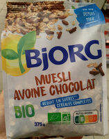 Muesli avoine chocolat bio - Produit - fr