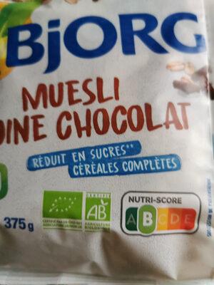Muesli avoine chocolat bio - Product - fr