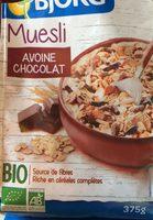 Muesli avoine chocolat - Product