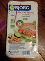 Galettes Quinoa - Produit - fr