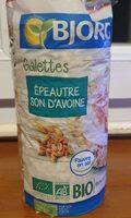 Galette épeautre/son d'avoine - Prodotto - fr