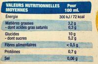 Boisson Epeautre Noisette - Informations nutritionnelles - fr