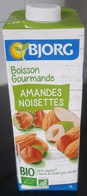 Boisson gourmande Amandes noisettes - Produit