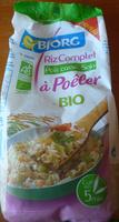 Riz complet à poêler bio - Produkt - fr