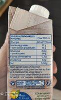 Lait de coco fluide - حقائق غذائية - fr