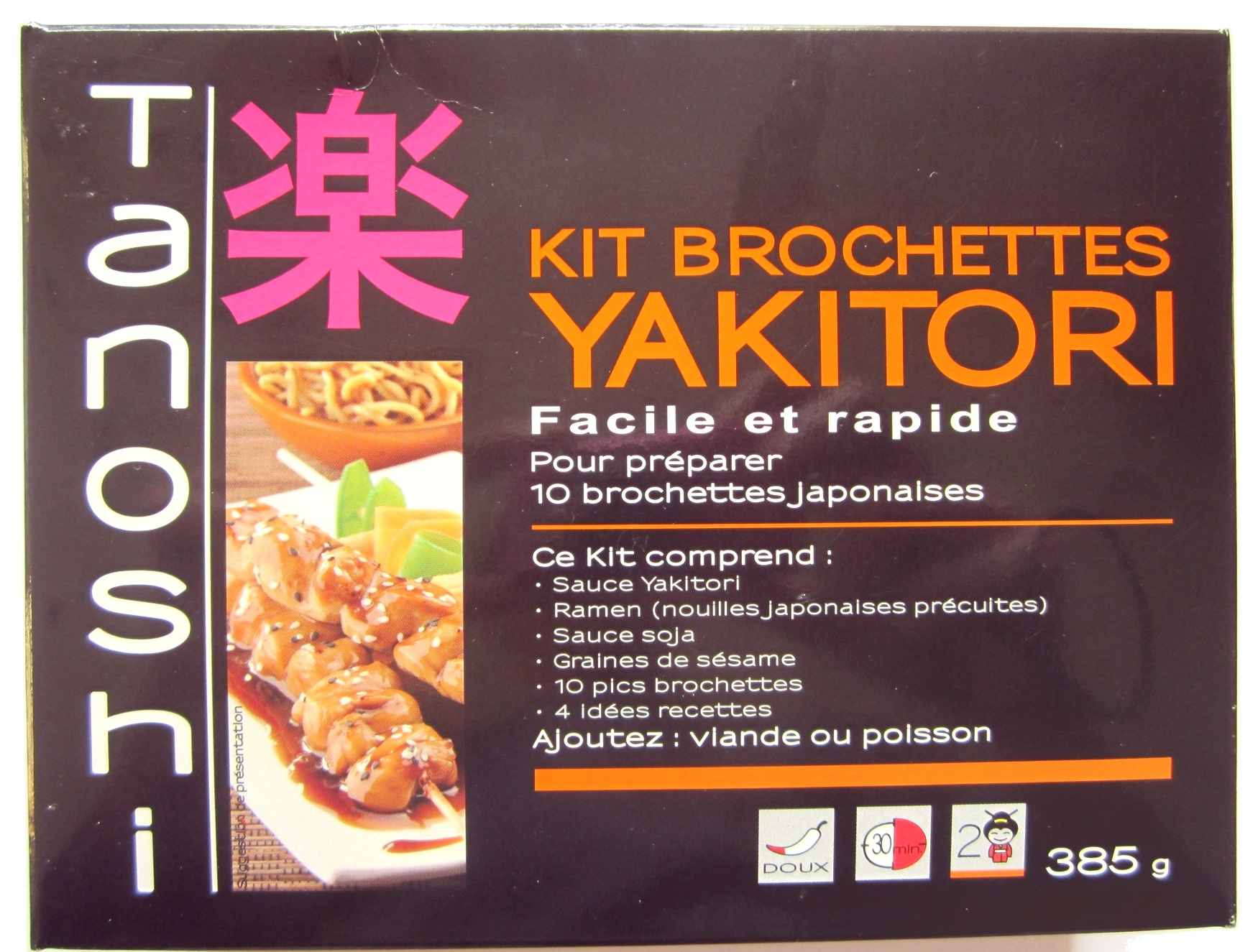 Kit brochettes Yakitori - Produit - fr