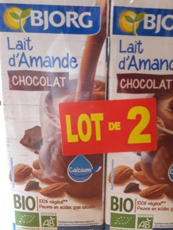 Lait D Amande Chocolat Bjorg