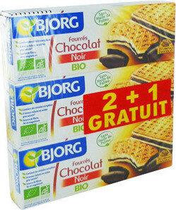 Fourres au chocolat noir bio - نتاج - fr