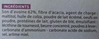 Biscuit de son d'avoine saveur miel Gayelord Hauser - Ingrediënten - fr