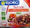 Salade Lentilles et légumes Bio - 180 g - Bjorg - Product