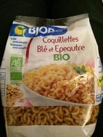 Coquillettes Blé et Epeautre BIO - Produit