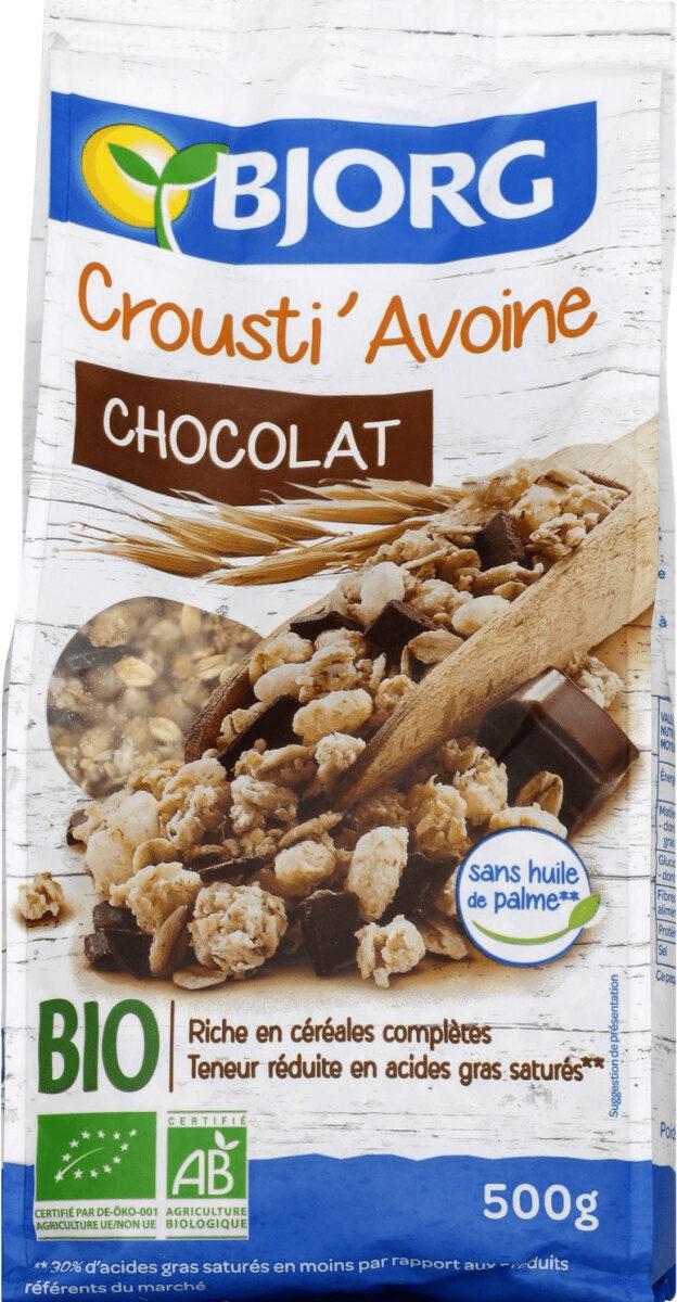 Crousti'avoine chocolat - Produkt - fr