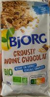 Crousti'avoine chocolat - Product - fr