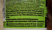 Nouilles Japonaises saveurs légumes et sauce soja - Nutrition facts