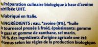 Avoine cuisine - Ingredients - fr
