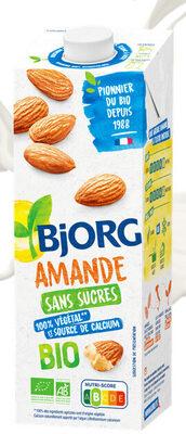Lait d'amande sans sucres - Product - fr