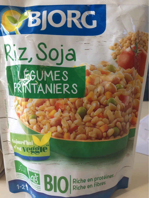 Riz soja et l gumes printaniers bjorg 250 g for Soja cuisine bjorg