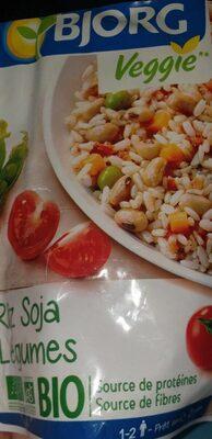 Bjorg veggie riz soja légumes - Product - fr
