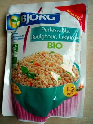 Perles de Blé, Boulghour, Légumes - Product